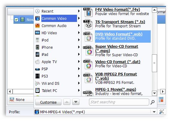 Как сделать из формата mp4 формат avi