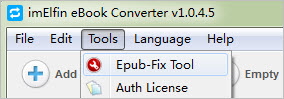 have access to EPUB-Fix Tool