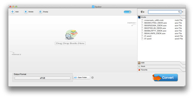 imElfin eBook Converter for Mac